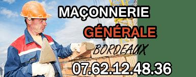 Maçon bordeaux, maçonnerie générale à Bordeaux - BTP